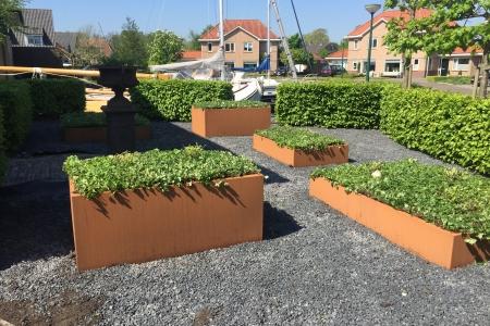 beplanting bloembakken (3)