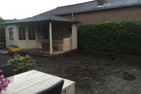 Renovatie achtertuin (2)